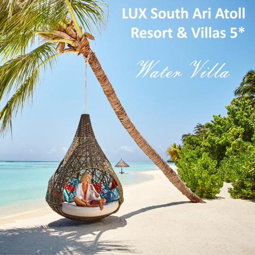 LUX South Ari Atoll Resort & Villas 5* Maldivas, 4 noches